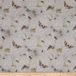 Alexander Henry The Ghastlies Web Mist Fabric