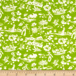 Mary Fons Small Wonders Brazil Digital Print Scenic Lime