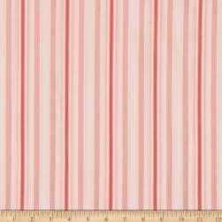 Sweet Tea Stripe Coral Fabric