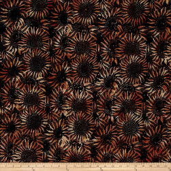 Hoffman Bali Batiks Sunflower Copper Fabric