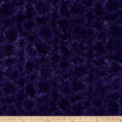 Bali Batiks Handpaints Sunflower Violet Fabric