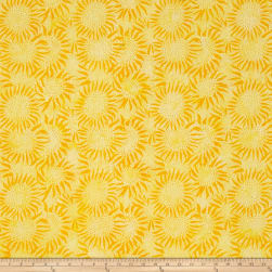 Bali Batiks Handpaints Sunflower Sun