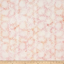 Bali Batiks Handpaints Sunflower Creamsicle Fabric