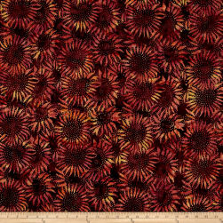 Bali Batiks Handpaints Sunflower Nightshade Fabric