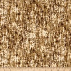 Greener Pastures Wood Texture Brown/Gray Fabric