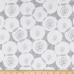 Mod About You Floral Polka Dot Light Gray