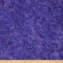Wilmington Batiks Splash Dots Purple Fabric