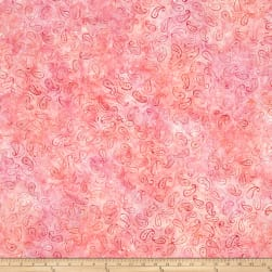 Wilmington Batiks Mini Paisley Pink