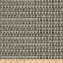 Sew Curious Basket Weave Grey