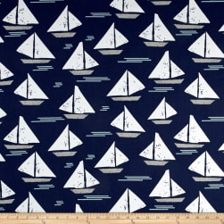 Premier Prints Cape May Vintage Indigo