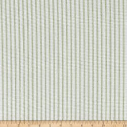Premier Prints Classic Ticking Stripe Kiwi Fabric