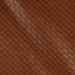 Faux Leather Tile Basketweave Rustica Fabric