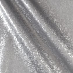 Frisco Vinyl Metallic Silver Fabric