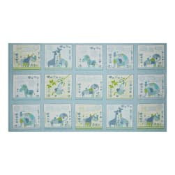 Patchwork Pals Patchwork 25'' Panel Blue Fabric