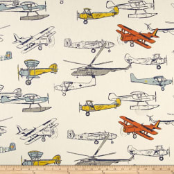 Premier Prints Vintage Air Maya Macon Fabric