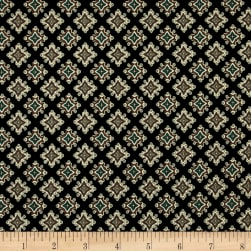 Caravan Diamond Foulard Black/Turq.