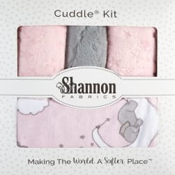 Shannon Lullaby Minky Cuddle Blanket Kit Lucky Star