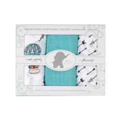 Shannon Embrace Double Gauze Swaddle 3 Pack Away