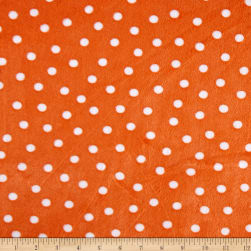 Shannon Minky Cuddle Alotta Dot Navy Fabric