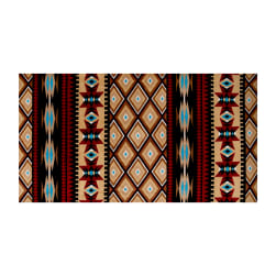Shannon Minky Cuddle Aztec Honey Fabric