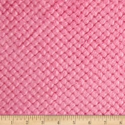 Shannon Minky Cuddle Cloud Spa Hot Pink Fabric