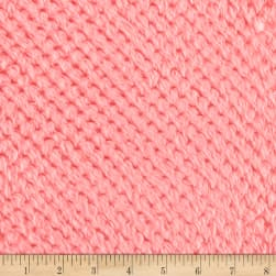 Shannon Minky Cuddle Cloud Spa Coral Fabric