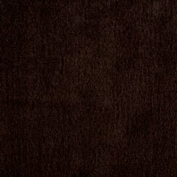 Shannon Minky Luxe Cuddle Velvet Chocolate Fabric