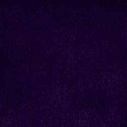 Shannon Minky Luxe Cuddle Velvet Eggplant Fabric
