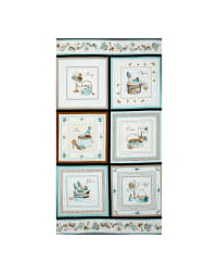 Glamour Inc. Box 24 In. Panel Aqua