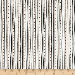 Glamour, Inc. Fashion Stripe Brown Fabric