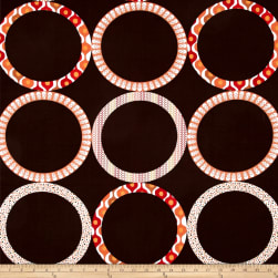 Kanvas Ecco Ring Brown Fabric