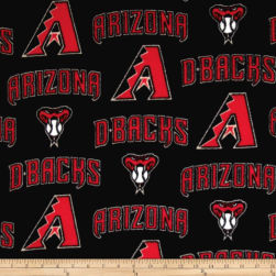 MLB Arizona Diamondbacks Fleece Fabric