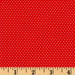 White Pin Dot White Red