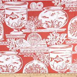 Golding by P Kaufmann Beachhouse Coral Fabric