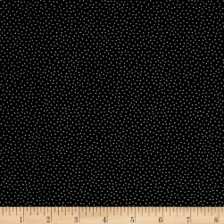 Marcus High Contrast Metallic Dots Black