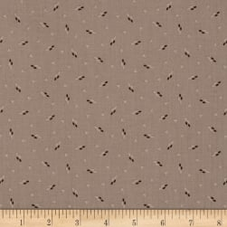 Night Stones Scatter Dot Tan Fabric