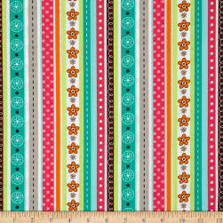 Woodland Gypsy Stripe Multi Fabric