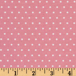 Marcus Grumpy Cat Dots Pink Fabric