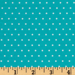 Marcus Grumpy Cat Dots Aqua Fabric