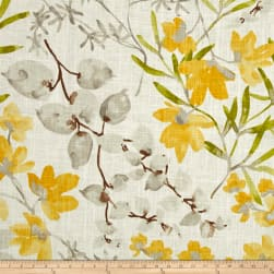 Braemore Gazebo Linen Blend Sunshine Fabric