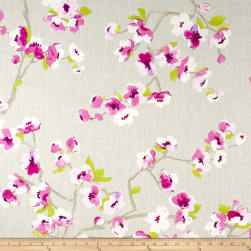 Braemore Sakura White Tea Fabric