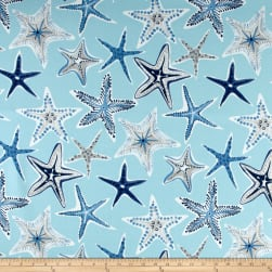 Waverly Sun N Shade Stars Collide Nautical Fabric