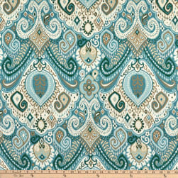 Waverly Sun N Shade Boho Passage Spa Fabric