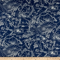 Tommy Bahama Indoor/Outdoor South Seas Nautical Fabric