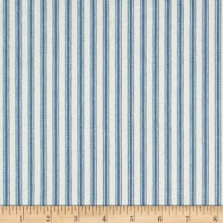 Waverly Classic Ticking Denim Fabric
