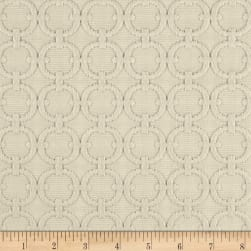 Waverly Full Circle Rope Matelasse Cream Fabric