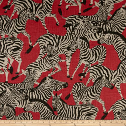 Waverly Herd Together Ruby Fabric