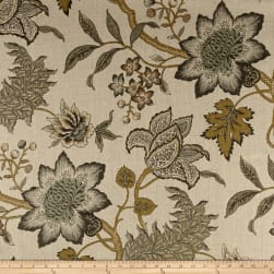 Waverly Jacobean Flair Vermeil Linen Fabric