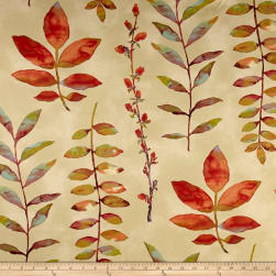 Waverly Leaf of Faith Flaxseed Twill Fabric
