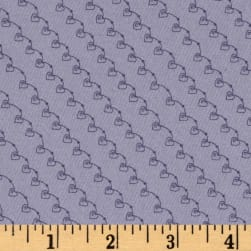 On Plumberry Lane Swirl Lavender Fabric